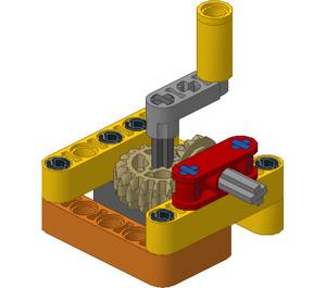 FLL Workshop Power Transmission Module - Input Crank Set