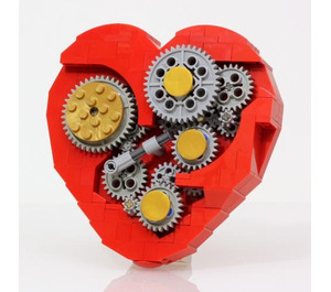 JKBrickworks Clockwork Heart Set