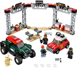 LEGO 1967 Mini Cooper S Rally and 2018 MINI John Cooper Works Buggy Set 75894