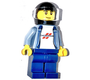 LEGO 1970 Dodge Charger Driver Minifigure