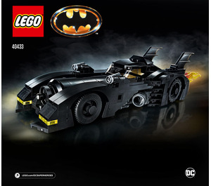 LEGO 1989 Batmobile - Limited Edition Set 40433 Instructions