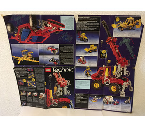 LEGO 1989 Technic Foldout Poster