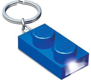 LEGO 1x2 Brick Key Light (Blue) (5004262)