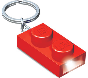 LEGO 1x2 Brick Key Light (Red) (5004264)