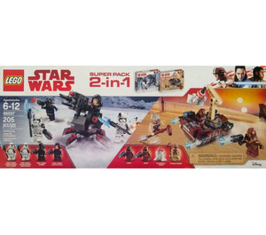 LEGO 2-in-1 Super Pack Set 66597