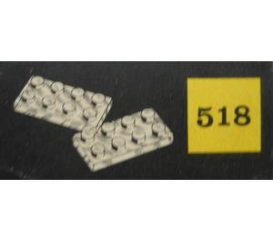 LEGO 2 x 4 Plates (cardboard box version) Set