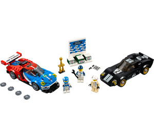 LEGO 2016 Ford GT & 1966 Ford GT40 Set 75881