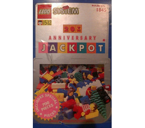 LEGO 20th Anniversary Jackpot Bucket Set 1845