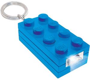 LEGO 2x4 Brick Key Light (Blue) (5002805)