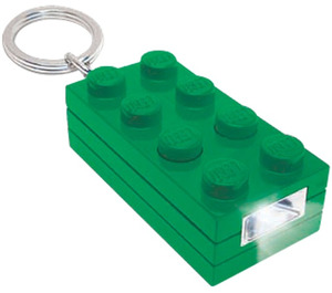 LEGO 2x4 Brick Key Light (Green) (5002804)
