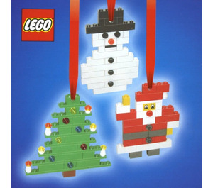 LEGO 3 Christmas Decorations Set 4759