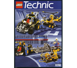 LEGO 3-In-1 Car Set 8286