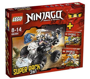 LEGO 3-in-1 Super Pack Set 66394