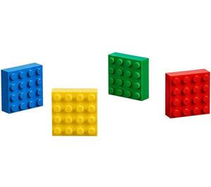 LEGO 4 4x4 Magnets (853915)