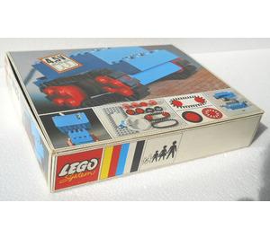 LEGO 4.5V Motor Set with Rubber Tracks 103-1 Packaging