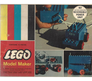 LEGO 4.5V Reversible Power Unit Set 107-3