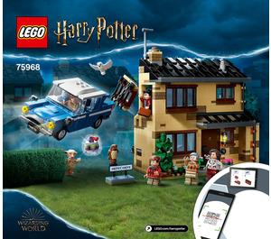 LEGO 4 Privet Drive Set 75968 Instructions