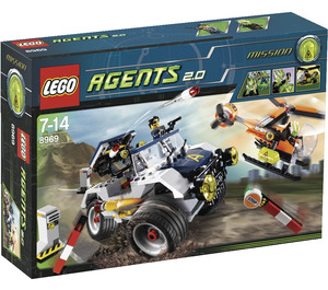LEGO 4-Wheeling Pursuit Set 8969 Packaging