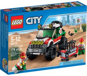 LEGO 4 x 4 Off Roader Set 60115 Packaging