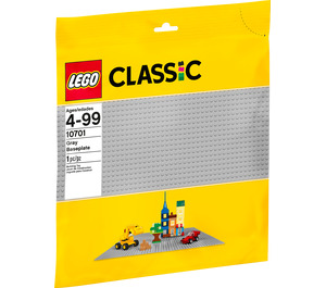 LEGO 48 x 48 Gray Baseplate Set 10701 Packaging