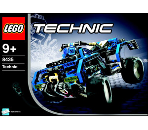 LEGO 4WD Set 8435 Instructions