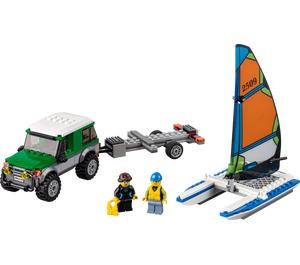 LEGO 4x4 with Catamaran Set 60149