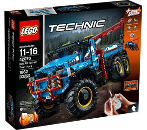 LEGO 6x6 All Terrain Tow Truck Set 42070 Packaging