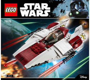 LEGO A-wing Starfighter Set 75175 Instructions