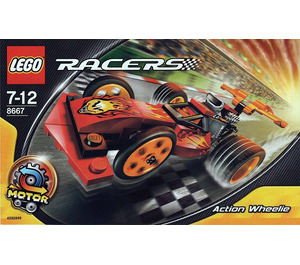 LEGO Action Wheeler Set 8667