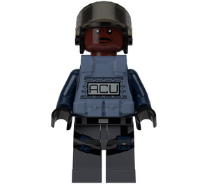 LEGO ACU Trooper with Armor and Helmet Minifigure