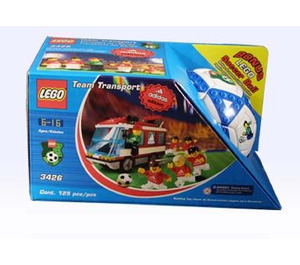 LEGO Adidas Team Transport Set 3426