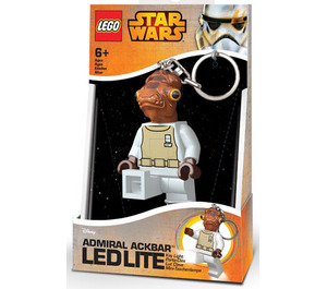LEGO Admiral Ackbar Key Chain LED Light