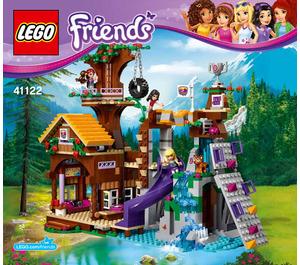 LEGO Adventure Camp Tree House Set 41122 Instructions