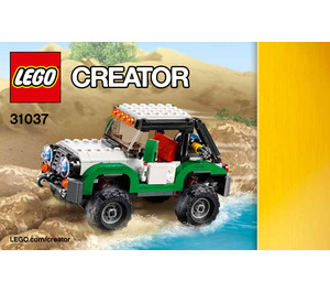 LEGO Adventure Vehicles Set 31037 Instructions