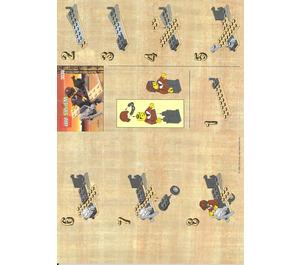 LEGO Adventurers Plane Set 3039 Instructions