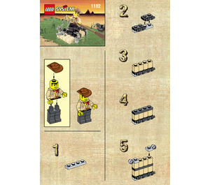 LEGO Adventurers Raft Set 1182 Instructions