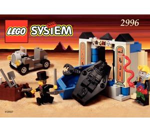 LEGO Adventurers Tomb Set 2996 Instructions