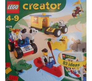 LEGO Adventures with Max and Tina Set 4175