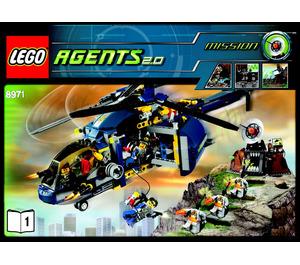 LEGO Aerial Defence Unit Set 8971 Instructions