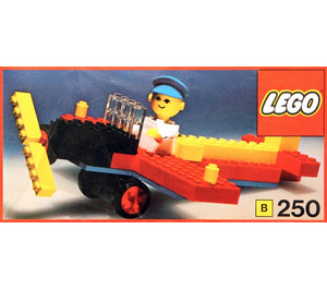 LEGO Aeroplane and pilot Set 250-3