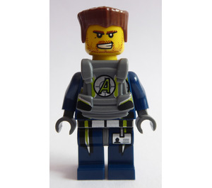 LEGO Agent Charge with Body Armor Minifigure