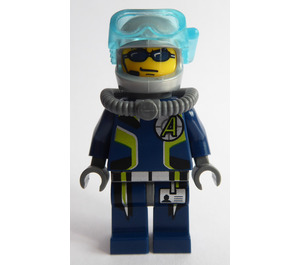 LEGO Agent Chase, Deep Sea Quest Diver Outfit Minifigure