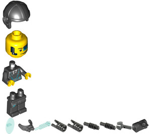 LEGO Agent Curtis Bolt Minifigure