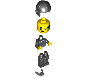 LEGO Agent Curtis Bolt with Goggles Minifigure