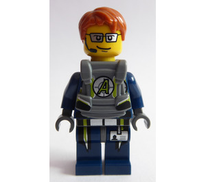 LEGO Agent Fuse with Body Armor Minifigure