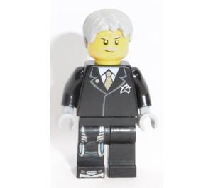 LEGO Agent Solomon Blaze Minifigure