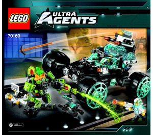 LEGO Agent Stealth Patrol Set 70169 Instructions