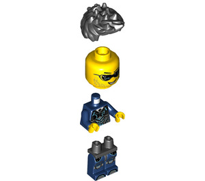 LEGO Agent Steve Zeal Minifigure