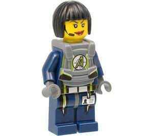LEGO Agent Swift with Body Armor Minifigure