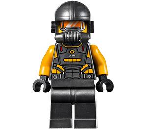 LEGO AIM Agent Minifigure